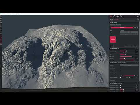 World Creator -  Mountains