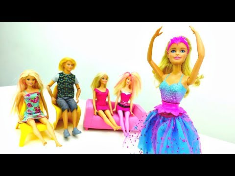 Мультик Барби 🎀 #БАРБИ Балерина выступает в театре! 👯 Куклы и Игры для Девочек Barbie