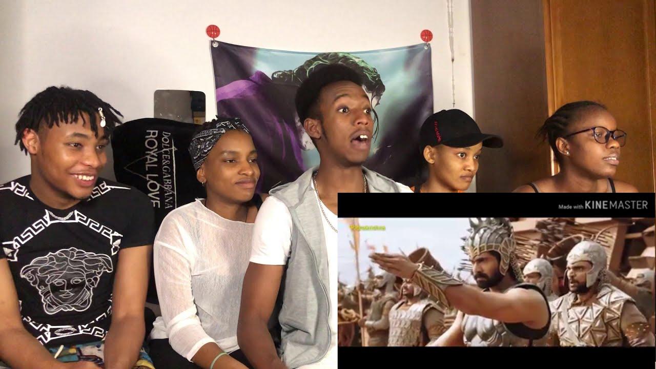 Africans react to Bahabuli: the beginning war scene