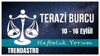 TERAZİ BURCU 1O - 16 EYLÜL HAFTALIK YORUM | TRENDASTRO