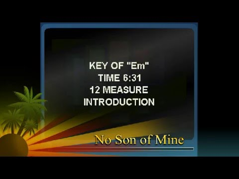 No Son of Mine - Phil Collins / Genesis cover with Lyrics