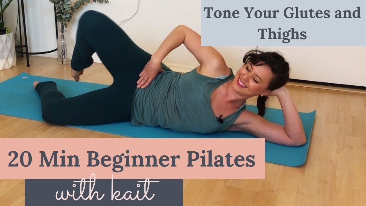 Download 20 Min Beginner Pilates with Kait: Bicycle to Tone your Butt and Thighs
