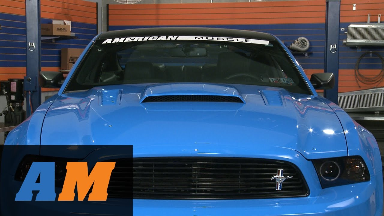 mustang mmd hood scoop pre painted 13 14 gt v6 review. Black Bedroom Furniture Sets. Home Design Ideas