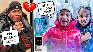 Download THE PRINCE FAMILY KIDS GOT STUCK IN THE SNOW STORM 🥶 **THEY FROZE**