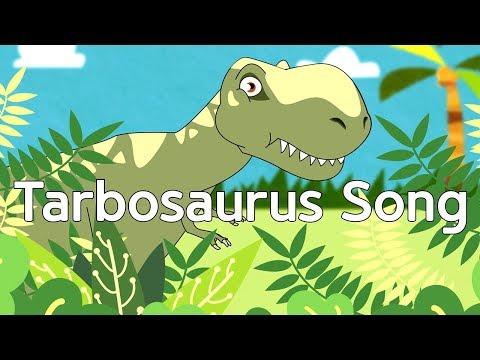 Tarbosaurus dinosaur song | jjoy song - dinosaur world #11
