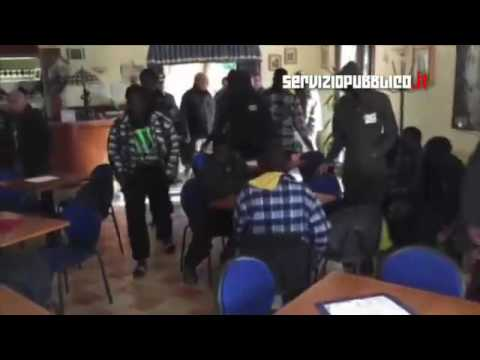 Watch : Italy , elderly Hotel Owner Forced to house illegal Migrants