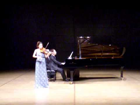 Wieniawski Polonaise brillante No.2 Op.21(vn.上里はな子・pf.松本和将)