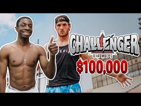 TBJZL 100M SPRINT TRAINING *LOGAN PAUL'S $100,000 CHALLENGER GAMES*
