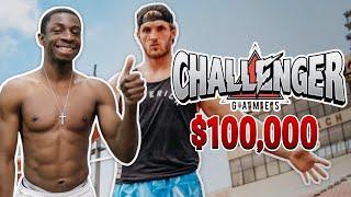 TBJZL 100M SPRINT TRAINING *LOGAN PAUL'S $100,000 CHALLENGER GAMES*