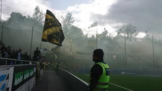 AIK-fansens tifo (IFK Norrköping - AIK 2-0)