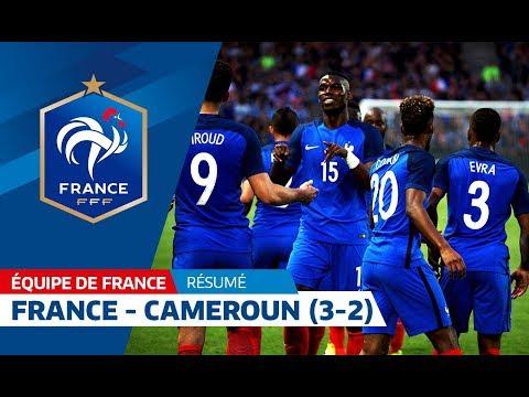 France - Cameroun 2016 : 3-2