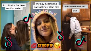 People Trying To Kiss Their Best Friends ~ TikTok Compilation