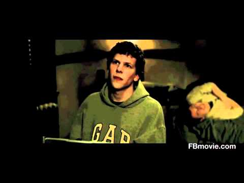 The Algorithm Scene HD - The Social Network - Eduardo Saverin Facemash