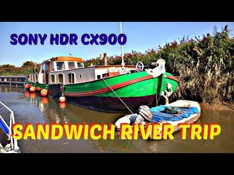 SANDWICH RIVER TRIP - SONY HDR CX900 - MUSIC GEOFF DEAN
