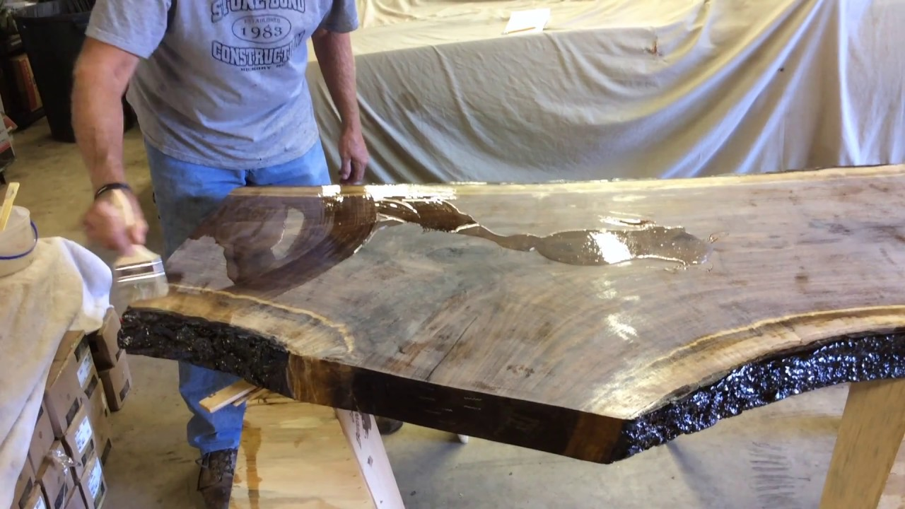 Black Walnut Table Top Youtube