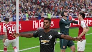 Premier League 2017-2018: Manchester United vs Arsenal - FULL MATCH SIM (FIFA 18)