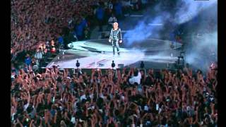 Johnny Hallyday: Intro et La musique que j'aime. Stade de France 98 par anthonyjohnnypussini
