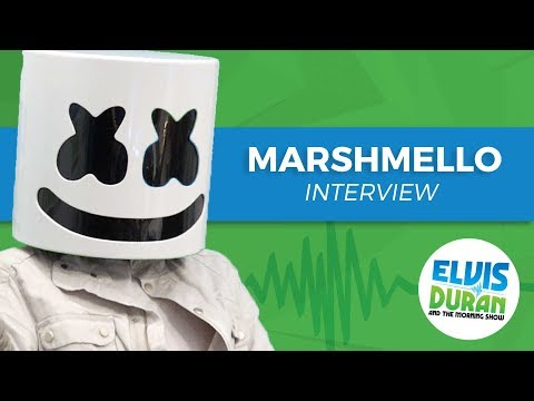 Elvis Duran's Silent AF Interview With Marshmello | Elvis Duran Show