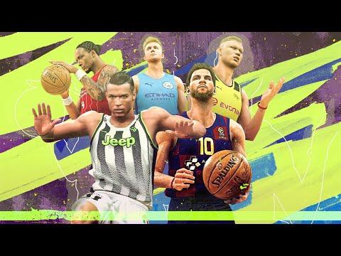 If Messi, Ronaldo and Football Stars Were in NBA 2K20