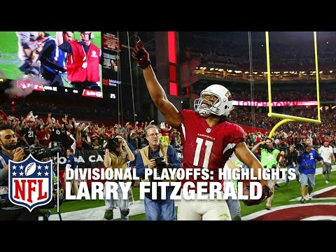 Larry Fitzgerald Highlights (Divisional Playoffs) | Packers vs. Cardinals | NFL