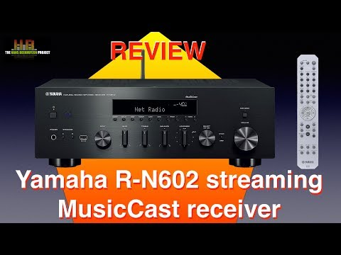 Yamaha R N602 Streaming MusicCast Receiver