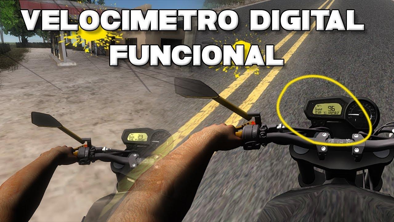 Gta Sa Fz6 Com Velocimetro Digital Funcionando Youtube