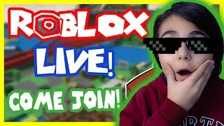 ROBLOX PET and CAKE SIMULATOR!?! LIVE BROADCAST 😱-Roblox