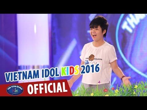 VIETNAM IDOL KIDS - THẦN TƯỢNG ÂM NHẠC NHÍ 2016 - TẬP 2 - NGÀY MAI & NƠI ẤY CÓ CHA - THẢO VY