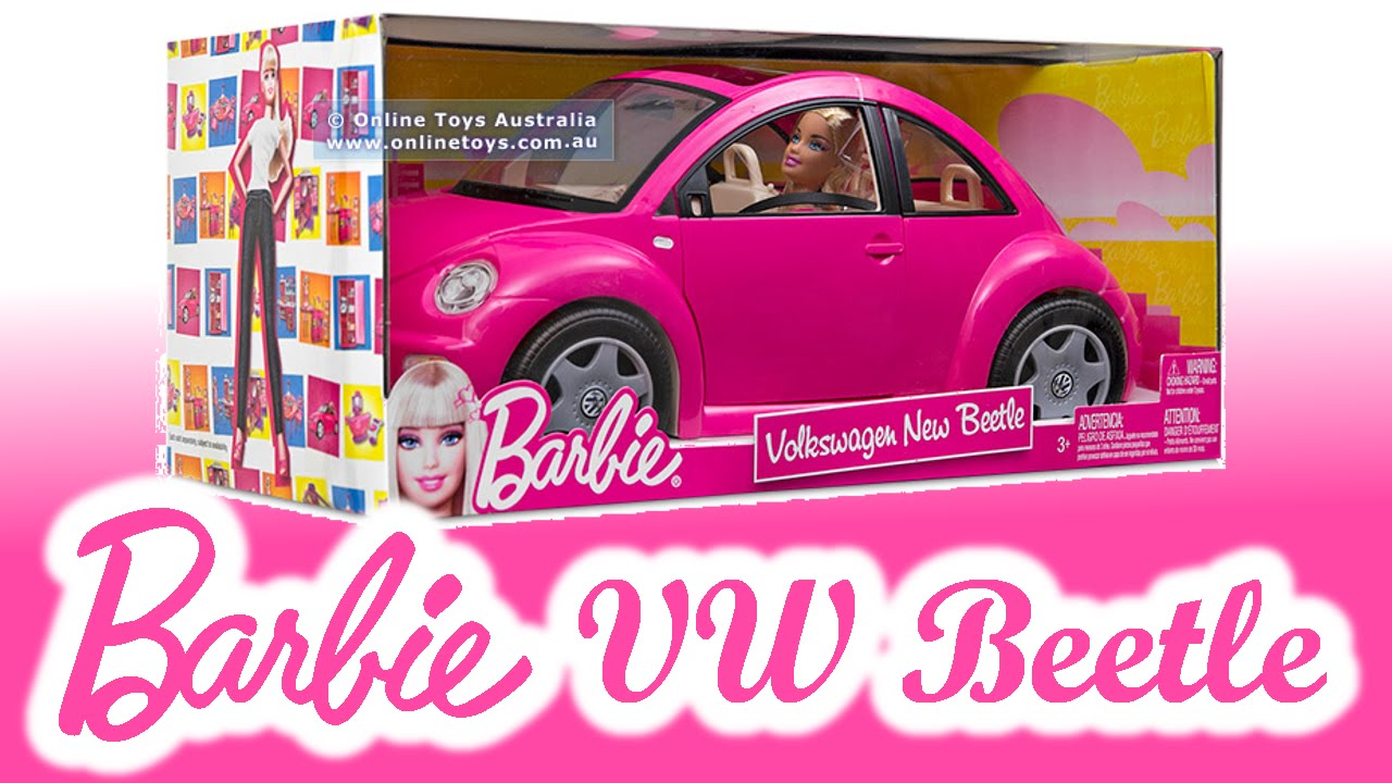 Barbie S Volkswagen Beetle Car Fun Youtube