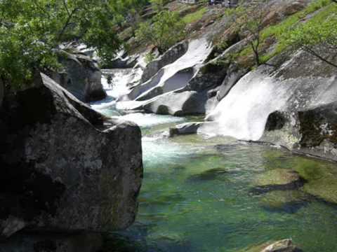 Sierra de gredos la paz es verde youtube for Piscinas naturales castilla y leon