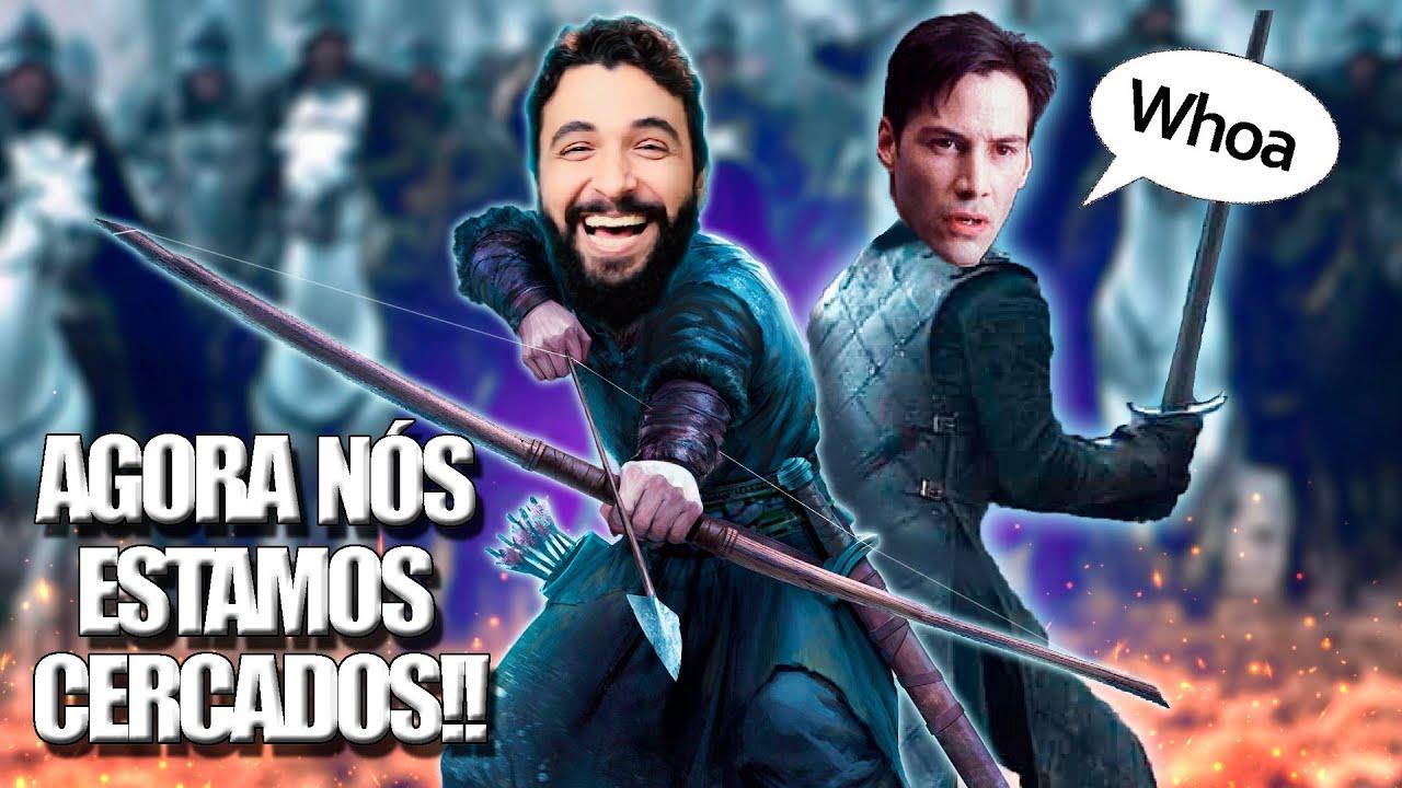 O INIMIGO CONTRA-ATACA!! (Gameplay de Arqueiro) - Life is Feudal MMO