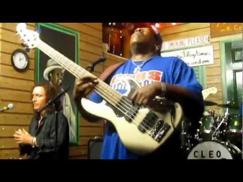 Larry Williams slaying a bass solo