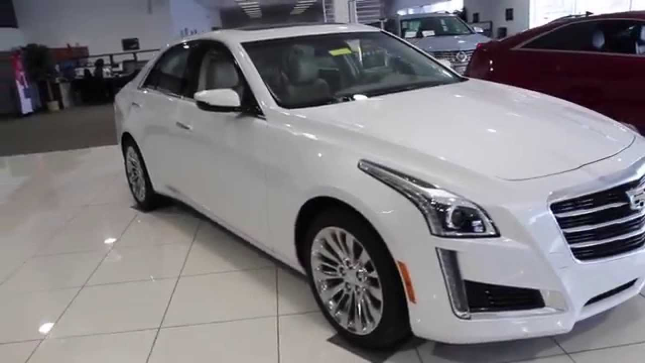 2015 CADILLAC CTS SEDAN AWD LUXURY | Cadillac Dealer ...