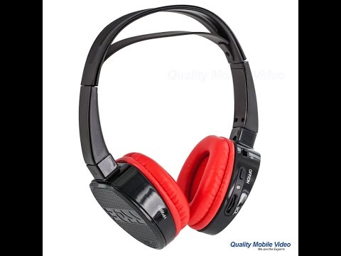 Car DVD Wireless Headphones Top 5 Questions