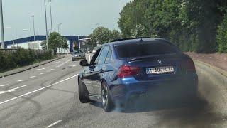 CRAZY BMW's Leaving Bimmerfest SIDEWAYS! M2, M3 E92/F80, M4, M5 E60/F10/F90, 335D, 550I etc!