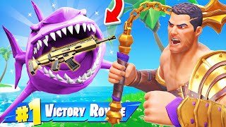 The *SHARK LOOT* ONLY Challenge in Fortnite!