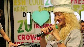 Delia - Pe aripi de vant (Live la Radio ZU)