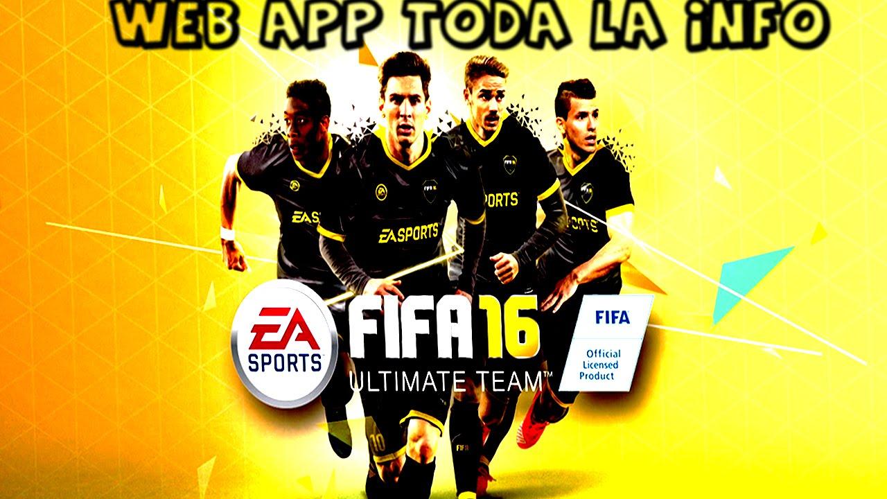 Webapp Fifa 16