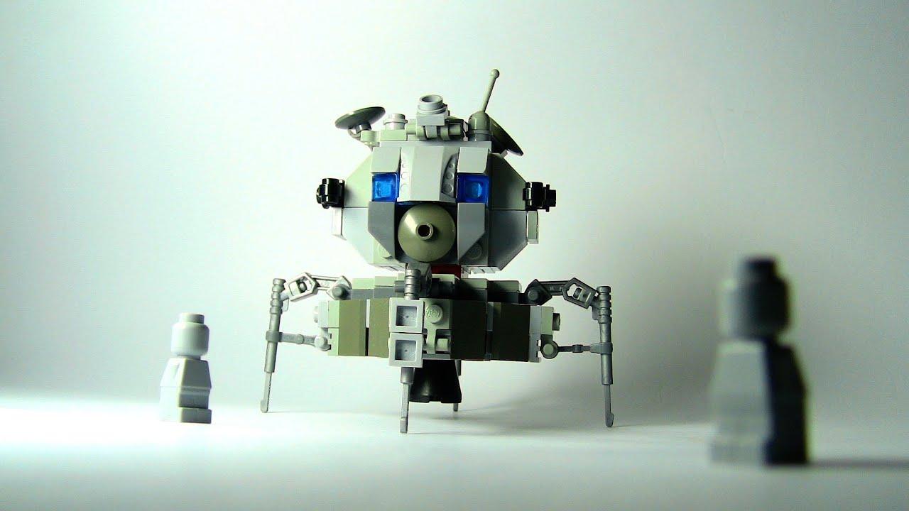 Lego - Lunar Lander Eagle (Apollo 11) - YouTube