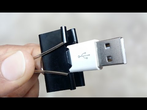 10 Awesome Binder Clip Life Hacks