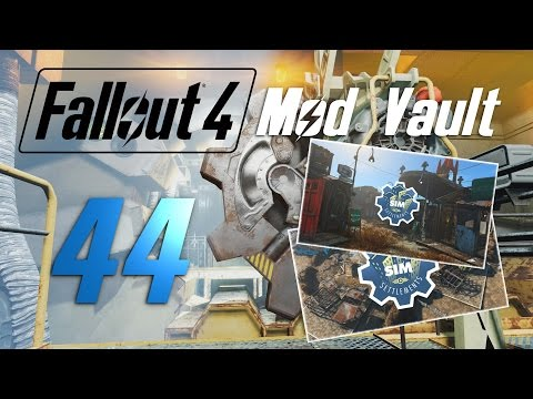 FALLOUT 4: Mod Vault #44 : Sim Settlements