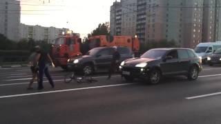 Быдло против велосипедиста + ОМОН