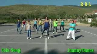 cola song inna juanny dance r b l balli di gruppo 2014