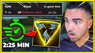 I Broke a speedrun WORLD RECORD in League of Legends *OFFICIAL*
