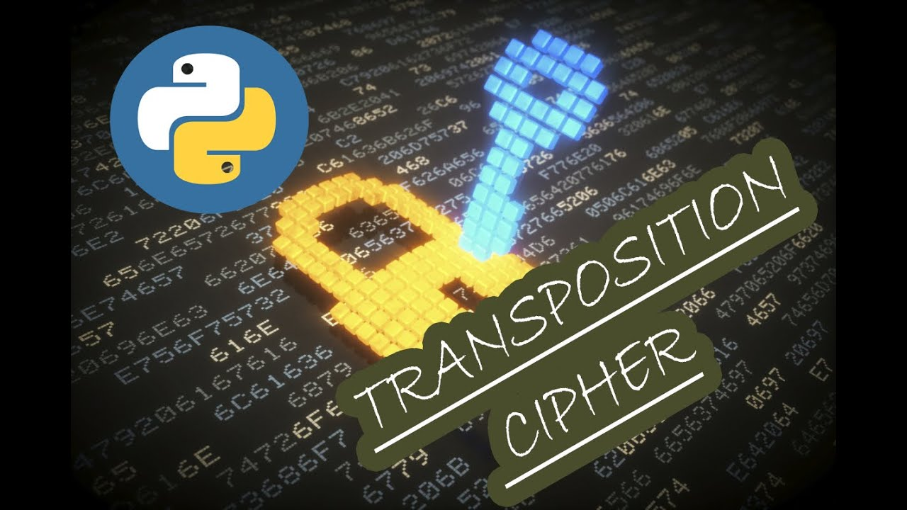 Transposition Cipher in Python - Cryptography with Python