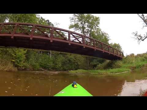 Onion River: County Road V To Sheboygan Falls, Wisconsin