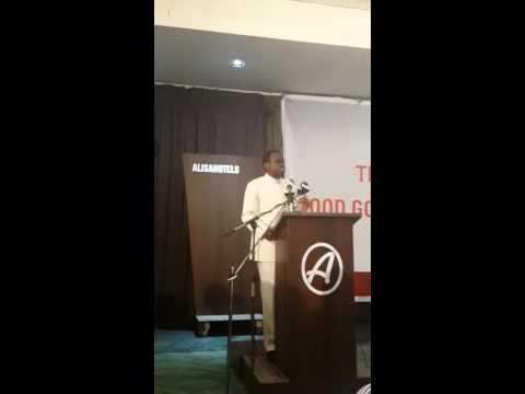 PLO Lumumba's speech in Accra p1