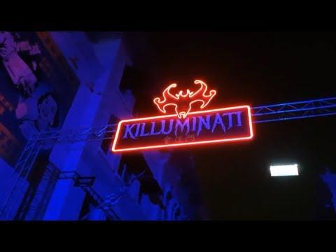 Universal Studios Singapore Halloween Horror Nights 2018 Killuminati Haunted House