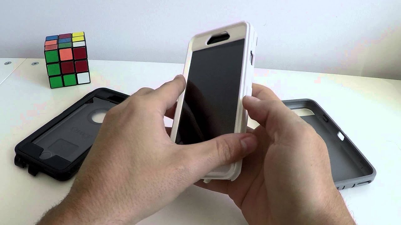 bf4d2fef48b Review Otterbox Defender iPhone 6 en Español - YouTube
