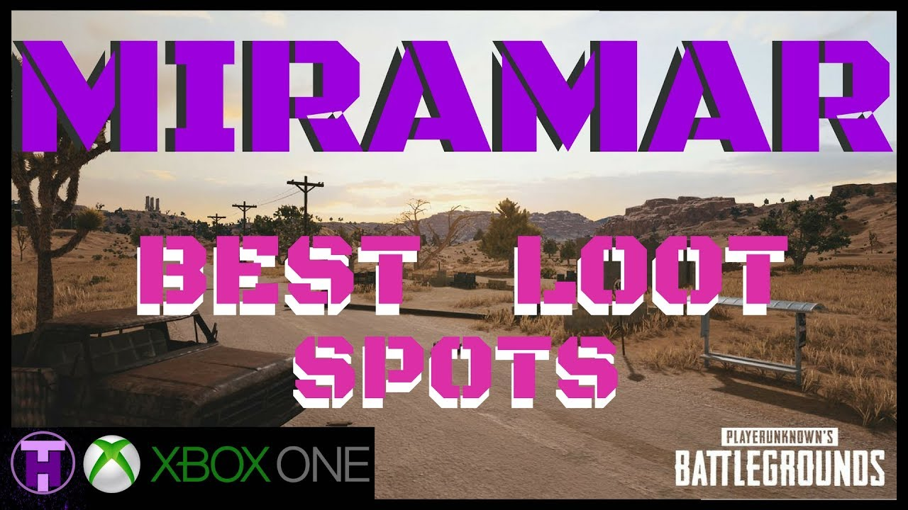 Playerunknown S Battlegrounds Maps Loot Maps Pictures: PUBG Best Loot Spot On The New Desert Map (Miramar Test